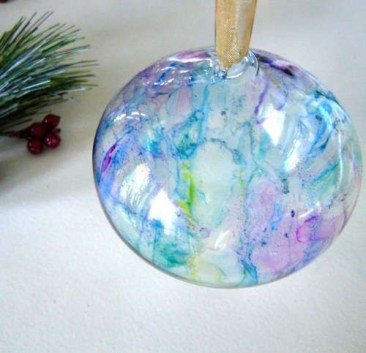 Diy glass ornament projects to try asap 40