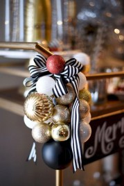 Diy holiday projects using dollar store ornaments 03