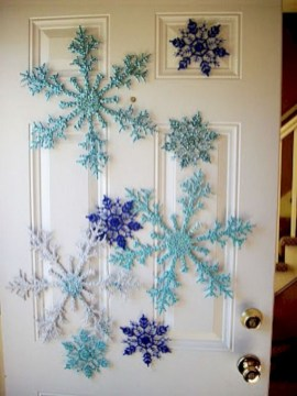 Diy holiday projects using dollar store ornaments 31