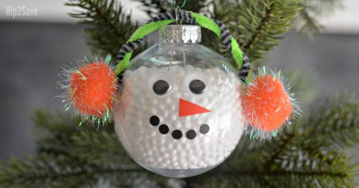 Diy holiday projects using dollar store ornaments 33