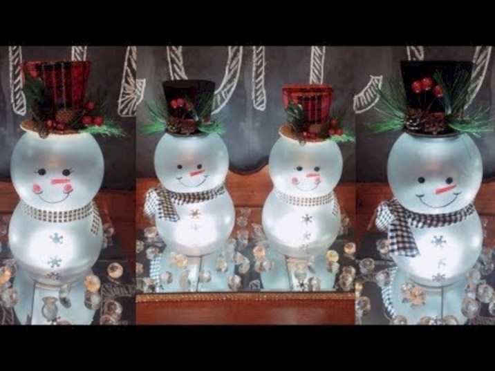 Diy holiday projects using dollar store ornaments 43