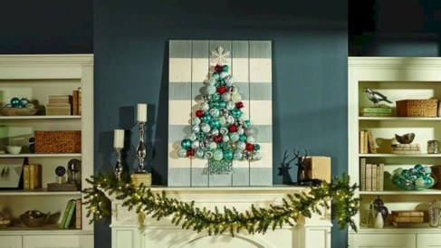 Diy holiday projects using dollar store ornaments 45