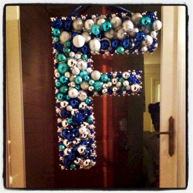 Diy holiday projects using dollar store ornaments 48