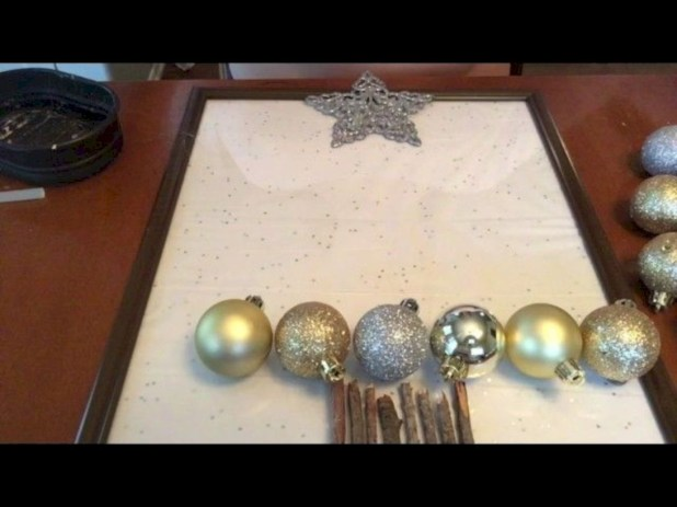 Diy holiday projects using dollar store ornaments 52