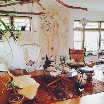 Enthralling bohemian style home decor ideas to inspire you 26