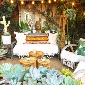 Enthralling bohemian style home decor ideas to inspire you 35