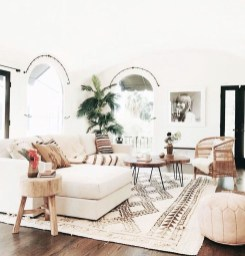 Enthralling bohemian style home decor ideas to inspire you 47