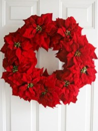 On a budget diy christmas wreath to deck out your door 34
