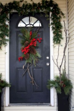 On a budget diy christmas wreath to deck out your door 38
