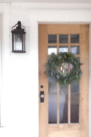 On a budget diy christmas wreath to deck out your door 44