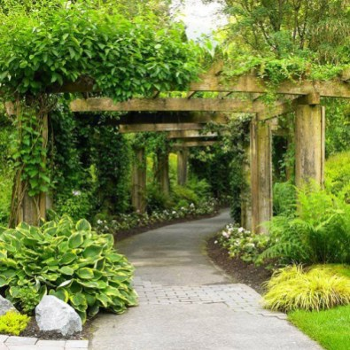 Pathway design ideas for your garden 14