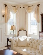 Smart and creative places to hang curtains other than window 03