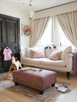 Smart and creative places to hang curtains other than window 16