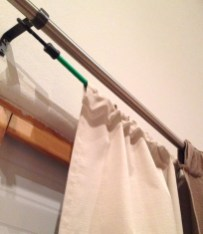 Smart and creative places to hang curtains other than window 24
