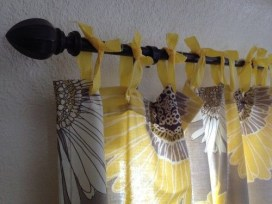 Smart and creative places to hang curtains other than window 32
