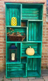 Diy wood crate shelves projects to calm the clutter effectively 05