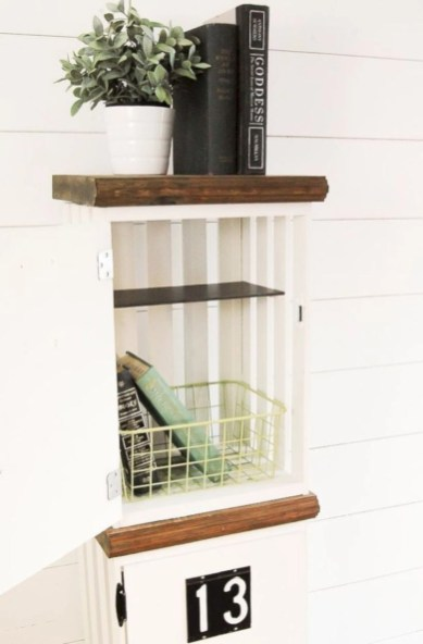 Diy wood crate shelves projects to calm the clutter effectively 15