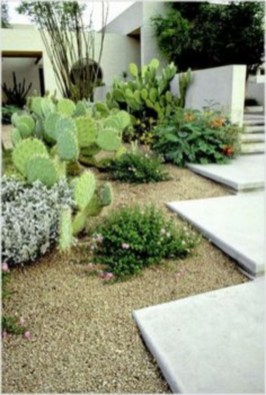Simple rock garden decor ideas for your backyard 14