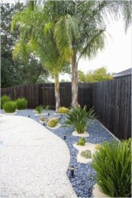 Simple rock garden decor ideas for your backyard 16
