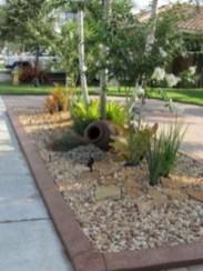 Simple rock garden decor ideas for your backyard 22