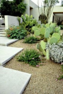 Simple rock garden decor ideas for your backyard 24