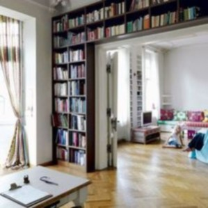 Smart and unusual book's storage ideas for book lovers 14