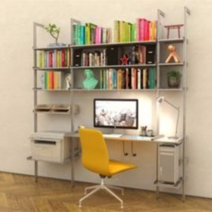 Smart and unusual book's storage ideas for book lovers 39