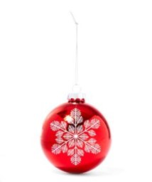 Ways to decorate your home with snowflakes and baubles 47