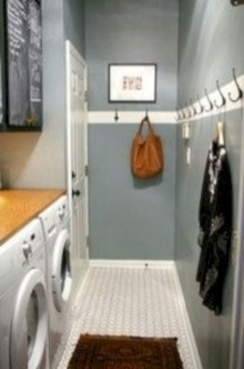 Beautiful and functional small laundry room design ideas 12