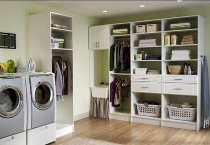 Beautiful and functional small laundry room design ideas 28