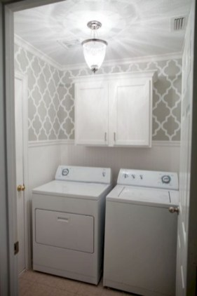 Beautiful and functional small laundry room design ideas 52