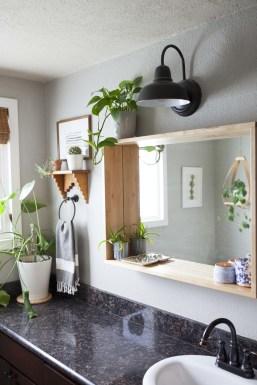 Built-in bathroom shelf and storage ideas to keep your bathroom organized 09