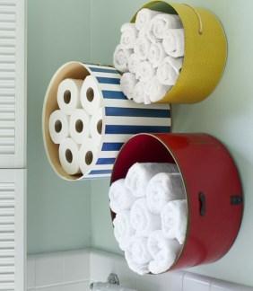Built-in bathroom shelf and storage ideas to keep your bathroom organized 13