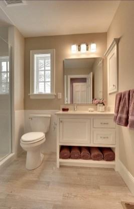 Built-in bathroom shelf and storage ideas to keep your bathroom organized 24