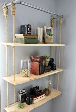 Built-in bathroom shelf and storage ideas to keep your bathroom organized 34
