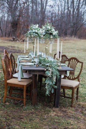 Charming rustic centerpieces that will fill up your tables 03