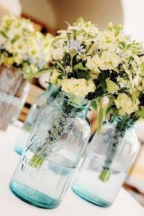 Charming rustic centerpieces that will fill up your tables 12
