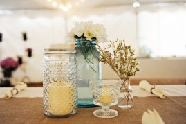 Charming rustic centerpieces that will fill up your tables 23
