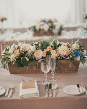 Charming rustic centerpieces that will fill up your tables 36
