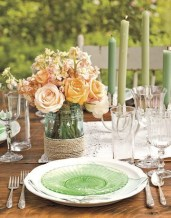 Charming rustic centerpieces that will fill up your tables 41