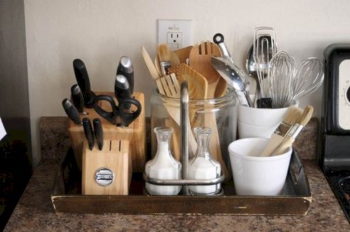 Inventive kitchen countertop organizing ideas to keep it neat 02