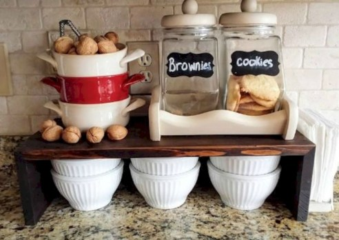Inventive kitchen countertop organizing ideas to keep it neat 36