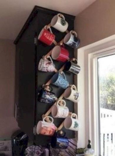 On a budget diy coffee mug holders you can easily make 04