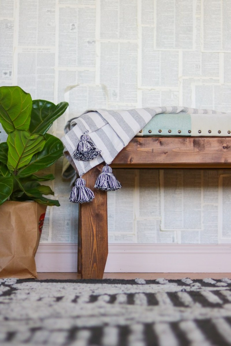 A Rustic Bench