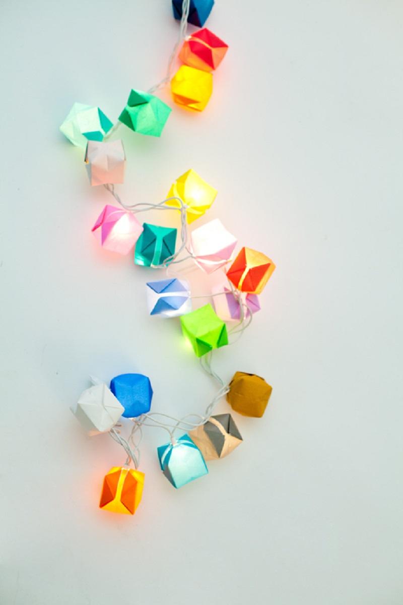 DIY Colorful Blow Box