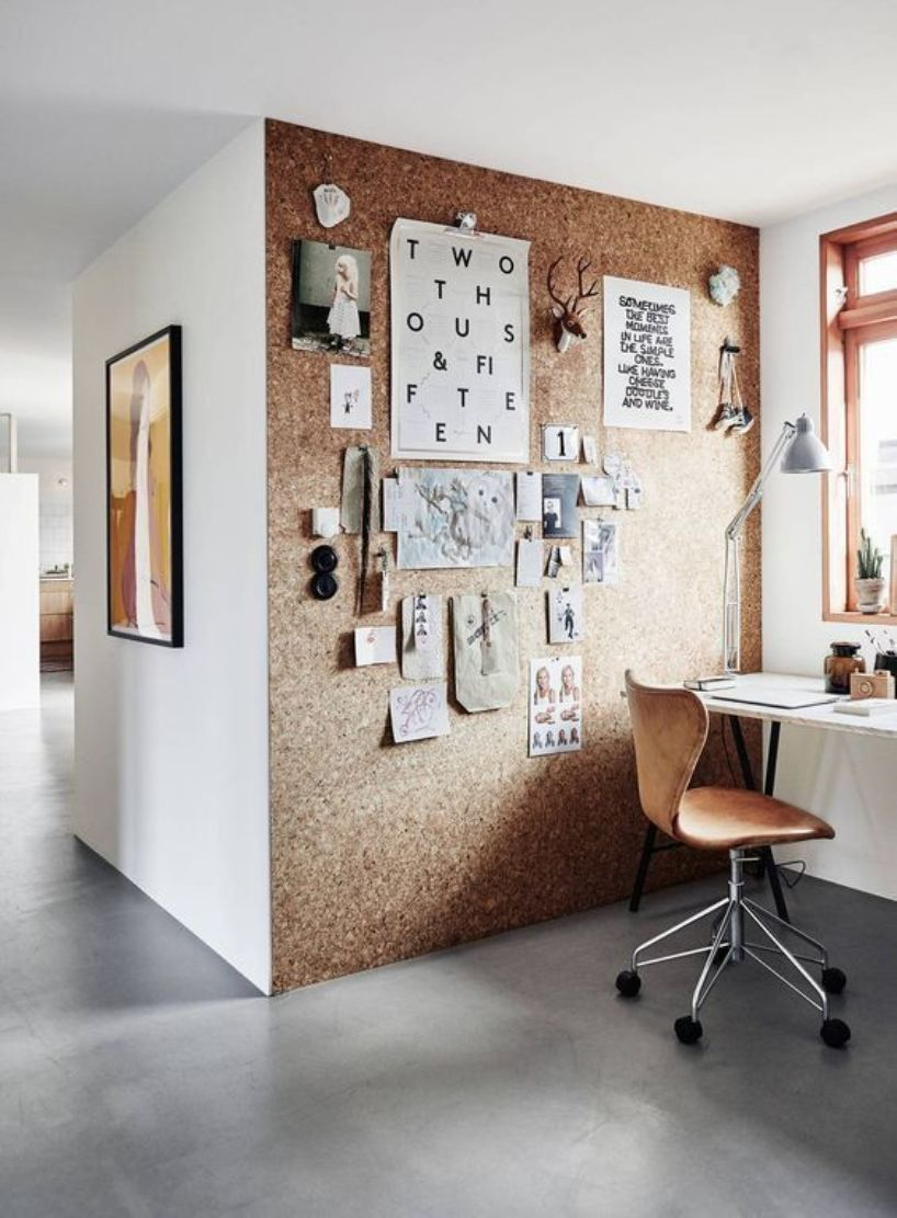 Rustic Cork Wall