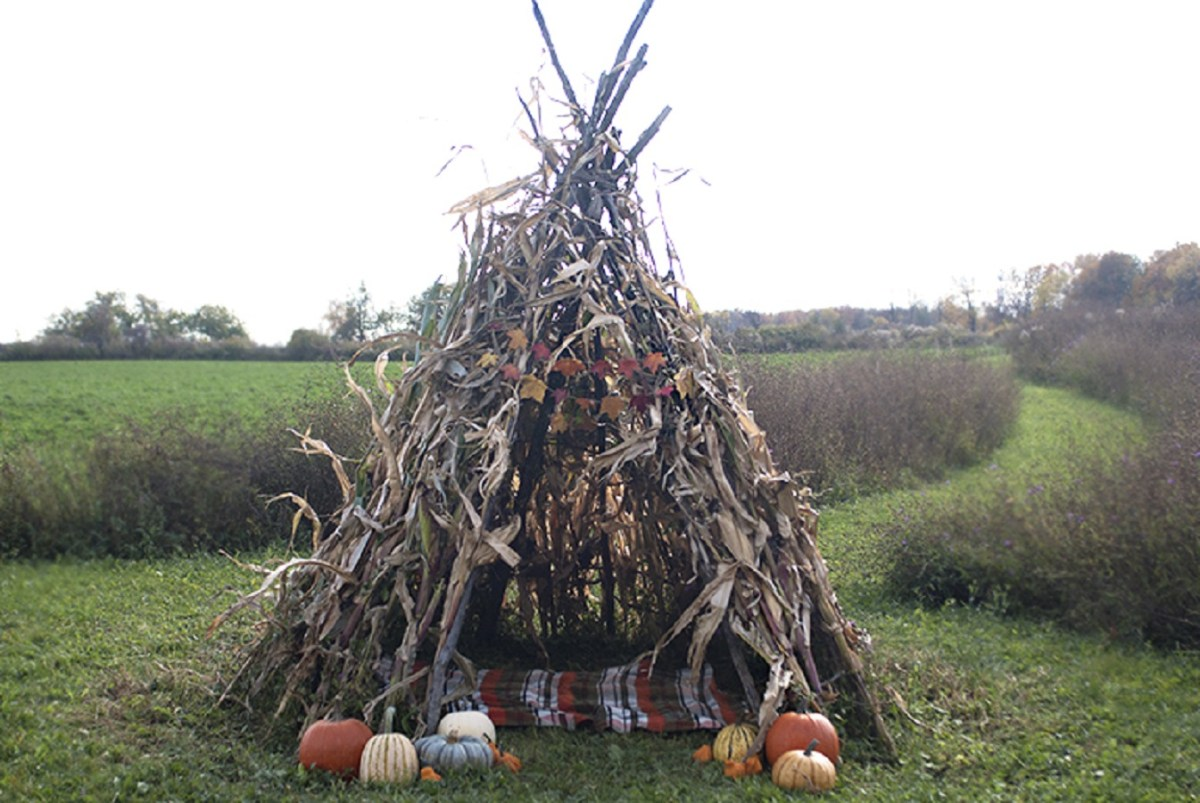 Cornstalk teepee DIY Wild Teepee Ideas That You And Your Kids Feel So Funny To Stay