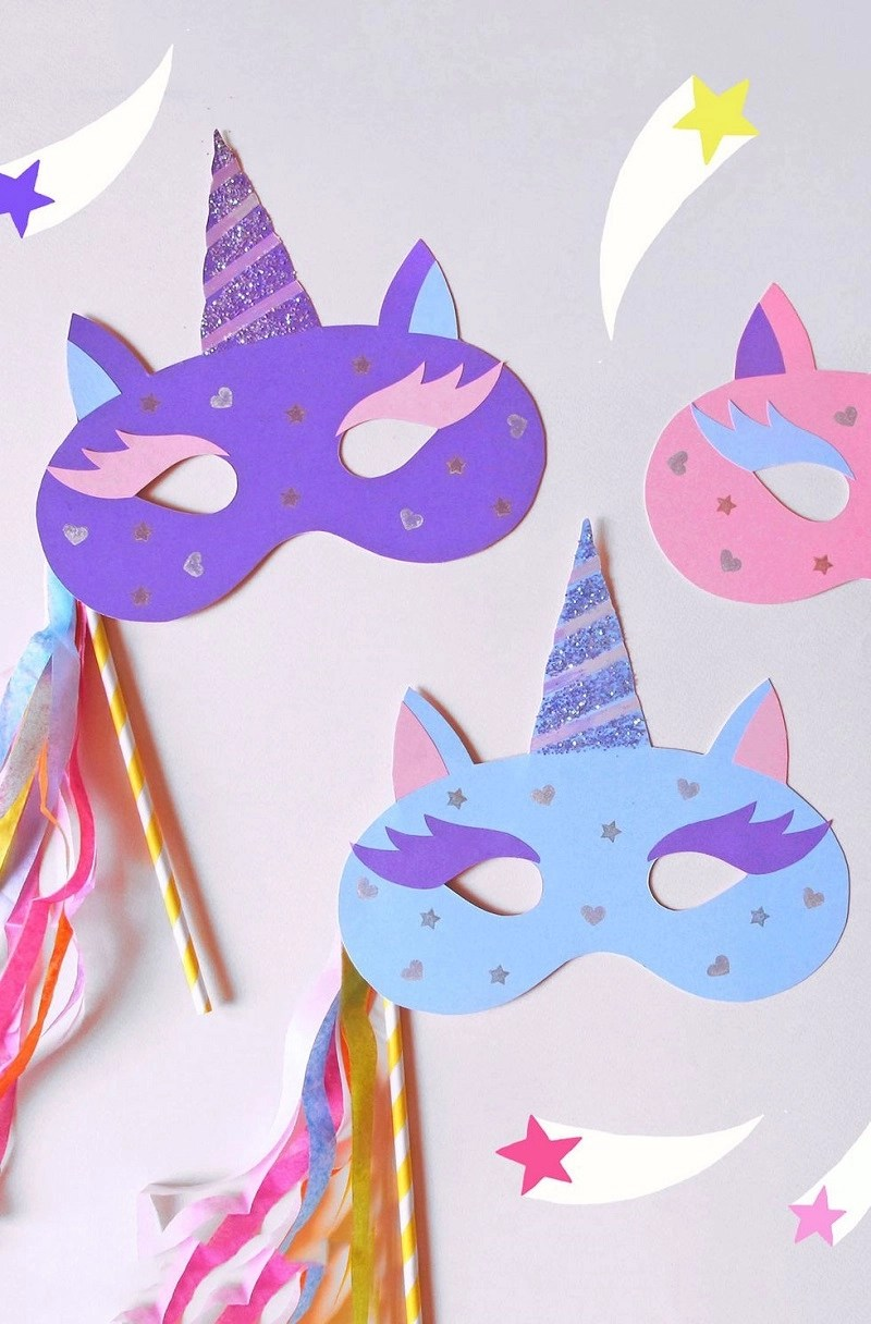 Cute unicorn mask