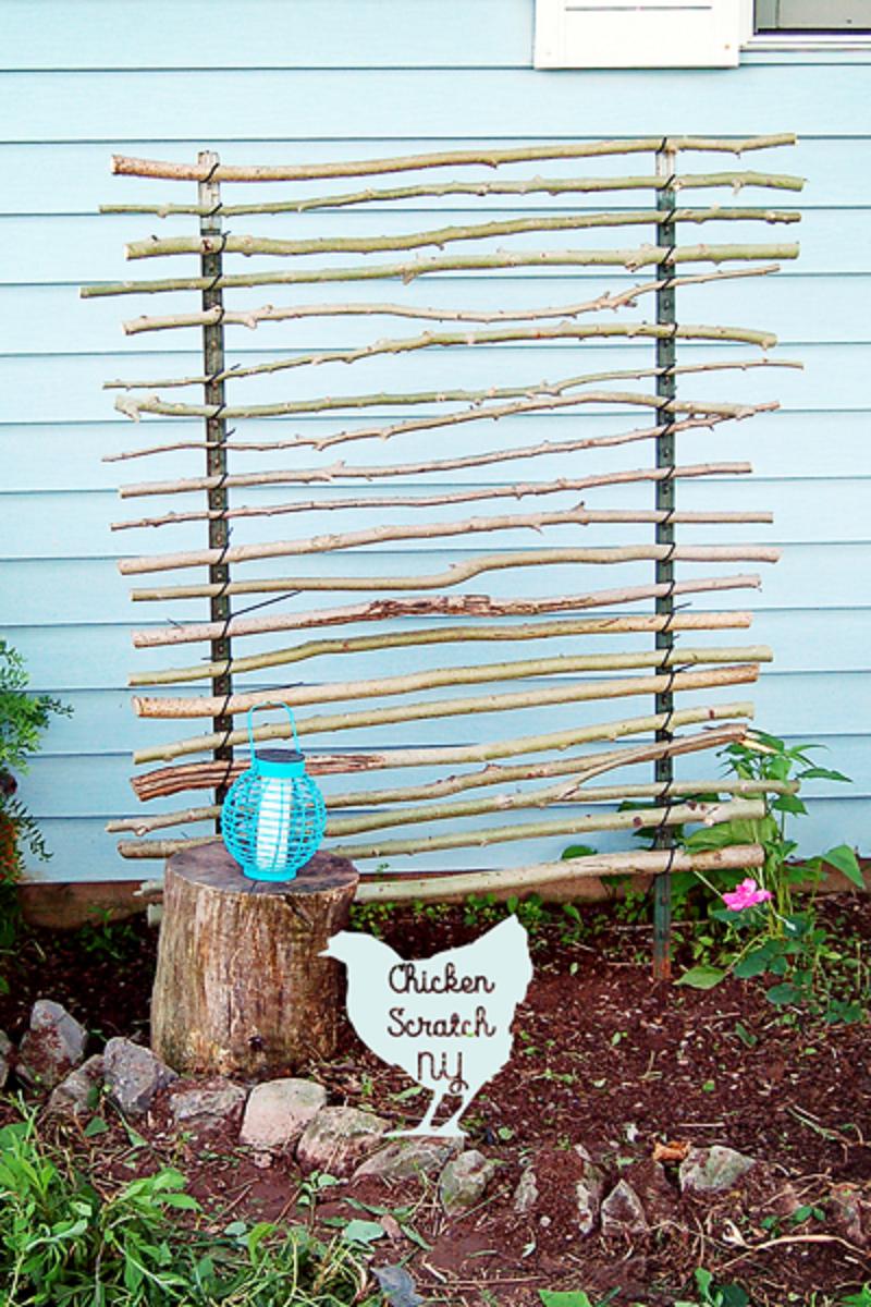 Diy t-post trellis Functional DIY Trellis Ideas To Beautify Your Garden In Style