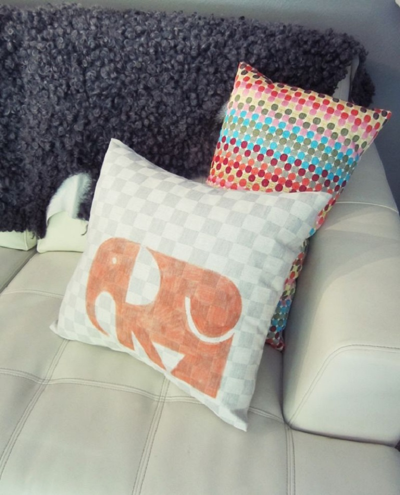 Elephant on pillow